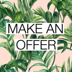 I love offers! 🌿🌿